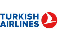 Logo main sponsor Turkish Airlines Airlines