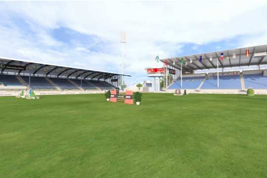 The main stadium as 3D Animation.