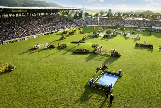 The Main Stadium in Aachen. © CHIO Aachen/Michael Strauch