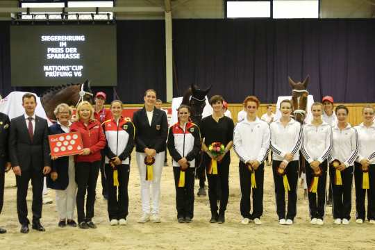 Prize of Sparkasse Nation's Cup Photo: CHIO Aachen / Michael Strauch