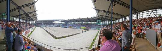 Panorama Dressur Stadion, Foto: CHIO Aachen/Andreas Steindl