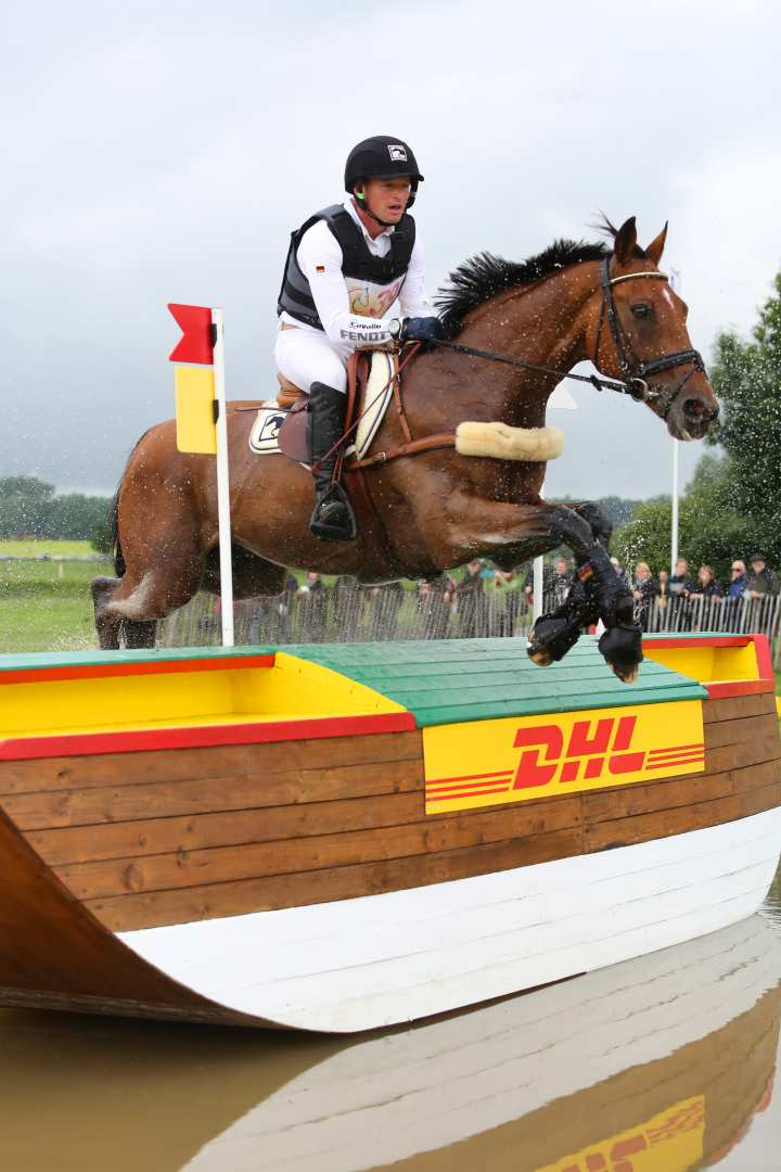 Michael Jung beim Cross Country in der Aachener Soers. (c) Andreas Steindl / CHIO Aachen