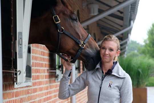 Laura Graves und Verdades. Foto: CHIO Aachen/ Anna Kluchert