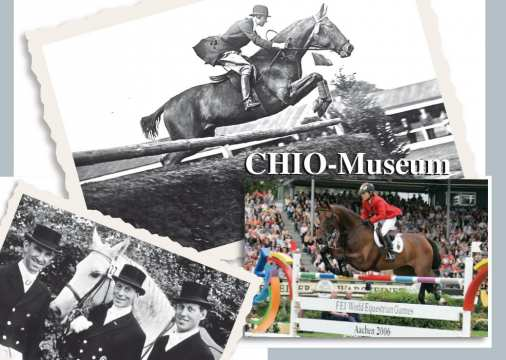 You can visit the museum for free and explore the emotional history of CHIO Aachen.