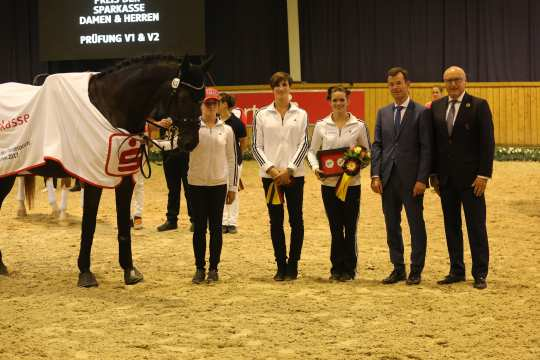 Prize of Sparkasse Freestyle Test to Music Female Photo: CHIO Aachen / Michael Strauch