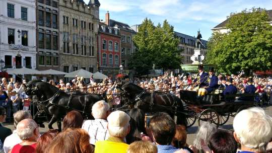 Welcome at the Aachener Markt Photo: CHIO Aachen