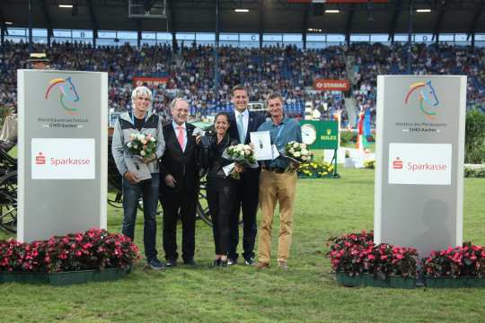 Prize giving ceremony Silver Camera Photo: CHIO Aachen / Michael Strauch
