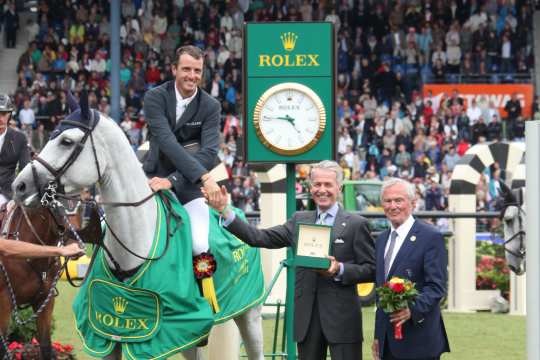 Prize giving ceremony  Rolex Grand Prix Photo: CHIO Aachen / Foto Studio Strauch