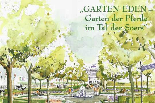 """Become """"sponsor"""" for a tree on the CHIO Aachen show grounds."""