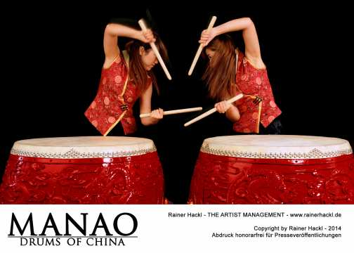 Manao-Drums of China / Foto: Rainer Hackl
